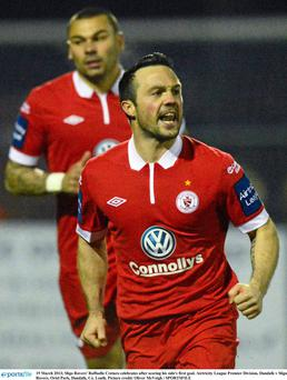 Rafael Cretaro was on target for Sligo Rovers at the Showgrounds