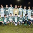 The Strand Celtic team which defeated Carrick Town in the U.16 Connacht Cup