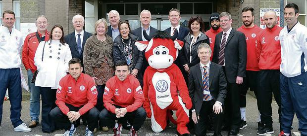 The announcement of the Friends of Sligo Regional Hospital as the charity partner for Sligo Rovers for 2014