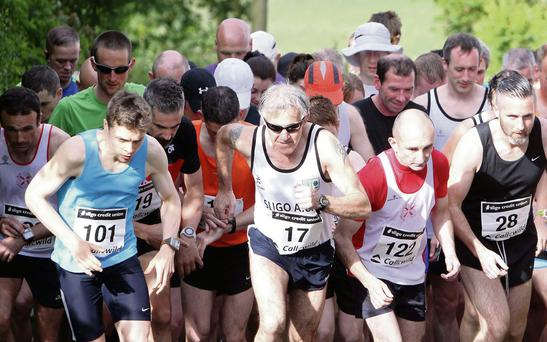 They're off and running in the Maugherow 10k last Saturday. Pic Carl Brennan.