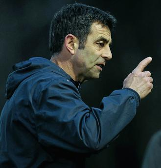 Sligo Rovers' assistant manager, Gary Stevens.