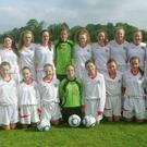 The Sligo/Leitrim girls under 14 team which participated in the Gaynor Cup competition in Limerick.