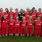 The Sligo-Leitrim U14 team who defeated Roscommon: Shauna Gernan, Sophie McDonagh, Lorrainne Oates, Sarah Kiernan, Kate Nugent, Aoife Haran, Sorcha Reddy, Erin Taheny, Muireann Devaney, Ciara Rushe, Ciara Henry, Aoife McLaughlin, Helen Monaghan, Cathy Harrison, Keela Scanlon, Shona Dalton and Meadhbh Mooney
