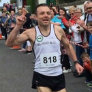Seamus Somers, winner of the Carney 10k race