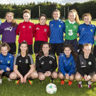 The Yeats Utd U16 Girls team who are taking part in the San Marino Cup this July