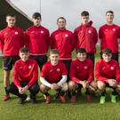 The Sligo Rovers U17s who are in the Mark Farren final against Waterford this Saturday at 2pm. Captain is Liam Kerrigan, Vice-Captain is Ryan Smith and the side includes Seamus Keogh, on the ROI U16s panel.