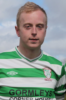 Mark Irwin from Ballymote will play for the Irish national Garda soccer team tomorrow with Norway in Oslo