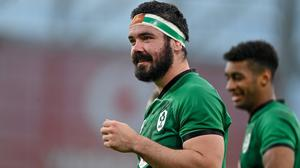 10 July 2021; Paul Boyle of Ireland during the International Rugby Friendly match between Ireland and USA at the Aviva Stadium in Dublin. Photo by Brendan Moran/Sportsfile