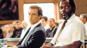 Matthew McConaughey and Samuel L Jackson in A Time to Kill (Friday, BBC1, 11.25p.m.)