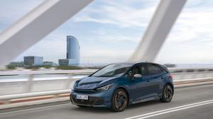 The all-electric CUPRA Born has a range of up to 540km.