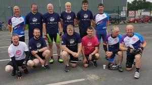 Pictured are some of the participants of the Pedal 4 Paul fundraiser. (Pic: Halfway House GAA club)