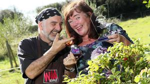Fiona and Malcolm Falconer of Wild About. Pic. Robbie Reynolds