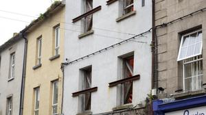 Over €250,000 has been spent on the derelict old Harney's shop John street.