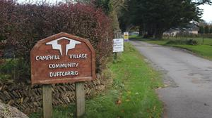 The old sign currently remains at Duffcarrig despite Brothers of Charity take over.
