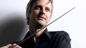 Composer and conductor Andrew Synnott.