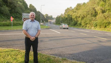 Cllr Laffan says that the new layout is causing problems.