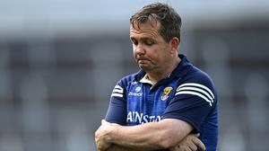 Davy Fitzgerald has stepped down from his role as Wexford Senior Hurling Manager.