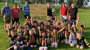 Tullogher Rosbecon GAA Club members getting behind the fundraiser.