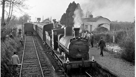 Palace East station in the 1960s. (Pic: by Roger Joanes/Irish Railway Modeller)