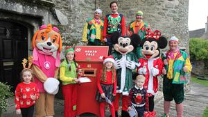 The launch of the 2021 Santa's Enchanted Castle in Enniscorthy.