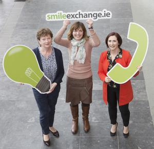 Margaret Murphy, resource efficiency officer, Southern Region Waste Management Office; Anne Murphy, circular economy executive, IBEC; and Katherine Corkery, project co-ordinator, SMILE Resource Exchange.