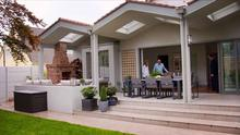 The Home of the Year judges at the Dublin home designed by Fergus Flanagan