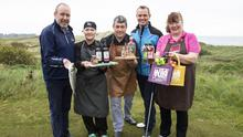 Billy Byrne, Tourist Development Officer, Wexford County Council; Mary Long, The Yard; Christie O'Reilly of Jackford Gin; Tiernan Byrne of Club Choice Ireland and Fiona Falconer of Wild About