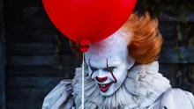 Bill Skarsgard as Pennywise the clown in the nerve-jangling It (Friday, ITV2, 9pm)