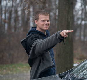 Lucas Hedges as Ben Burns-Beeby in the movie Ben is Back