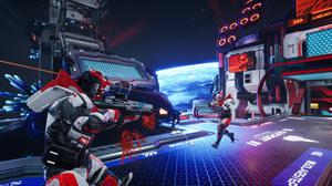 Splitgate is a rather tepid and uninspired arena shooter