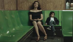 Maggie Gyllenhaal as Lisa Spinelli and Jimmy Roy as Parker Sevak in The Kindergarten Teacher