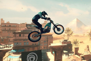 Trials Rising features a lavish spread of over a hundred levels