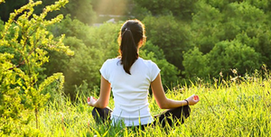 Give at least the first 15 minutes of the day to yourself – for meditation, exercise or self-reflection