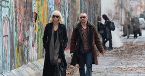Charlize Theron and James McAvoy in Atomic Blonde.