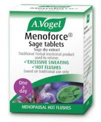 Sage supplements could help ease some of the symptoms of menopause