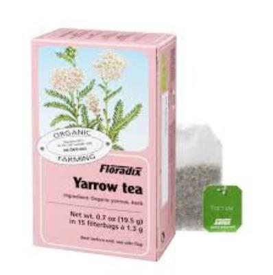Yarrow is a tea that can help tone your blood vessels, and maybe help lower blood pressure