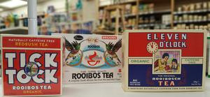 Rooibos also known as Red Bush, or South African Red Tea, was traditionally used in medicine in South Africa
