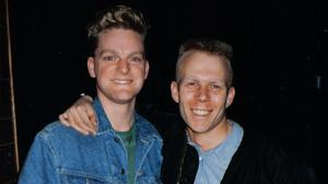 Andy Bell and Vince Clarke of Erasure