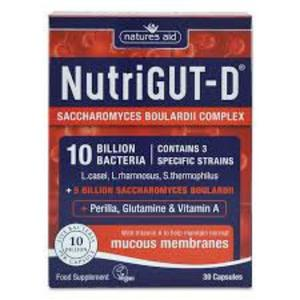 The supplement NutriGut D promotes gut health and repair