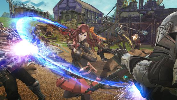 There's so little in the way of variation in Valkyria Revolution.