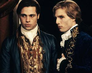 Brad Pitt and Tom Cruise in the lavish 1994 blockbuster Interview with the Vampire (Friday, BBC1, 10.45pm)