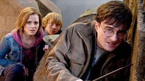 Emma Watson, Rupert Grint and Daniel Radcliffe in Harry Potter and the Deathly Hallows: Part 2 (Wednesday, ITV2, 6.35pm)