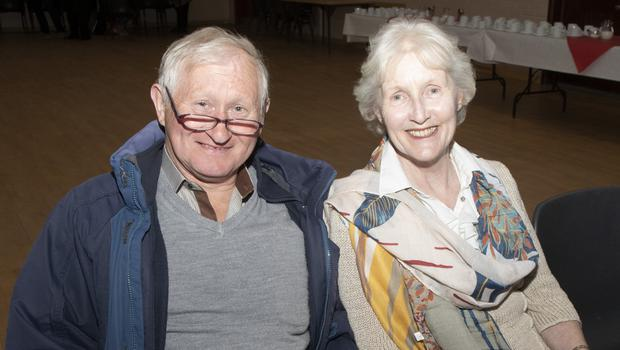 John and Margaret Stamp from Cleariestown at the Older People's Council information event in Clonard Community Centre