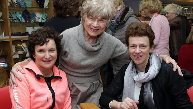 Ann Marie Curtis, Joan Boggan and Eithne Fitzpatrick at the coffee morning in Boggans Service Station, Newtown Road in aid of Wexford Hospice Homecare