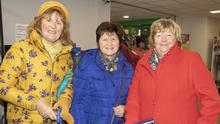 Melinda Dirrane, Brid MacFadden and Aileen Ironside at the the opening of the new upgraded store at Murphy's Supervalu Rosslare Harbour