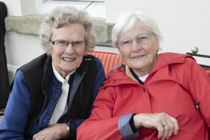 Eilish D'Arcy and Betty Butler from Ballyhogue enjoying their day out at the the open day at Artramon House