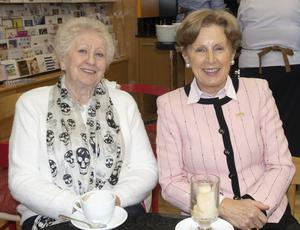 Anna O'Leary and Eleanor Quilty at the coffee morning in Boggans Service Station Newtown Road in aid of St Vincent De Paul