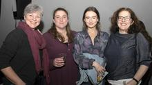 Leanne Sheridan, Lizzy Gibbon, Marika Sheridan and Joanne Powell at the Australian Bushfire Benefit concert in Wexford Arts Centre on Friday night (31st)