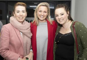Jill Devereux, Gemma Doyle and Katie O'Connor the opening of the Mum Gym in Clonard Village