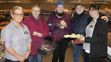 Deirdre Quirke, Betty Rea, Kay Barry, Niall Rea and Liz Benson at the opening of the new upgraded store at Murphy's Supervalu Rosslare Harbour